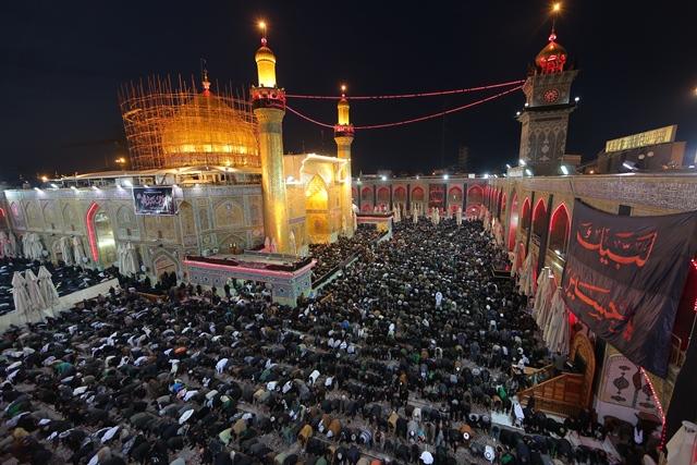 حشود الزائرين المليونية تتوافد على الحرم العلوي الطاهر في ذكرى وفاة الرسول الأعظم محمد (صلى الله عليه وآله وسلم)