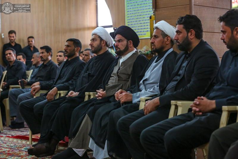 قسم الشؤون الدينية في العتبة العلوية المقدسة يختتم الدورة الفقهية
