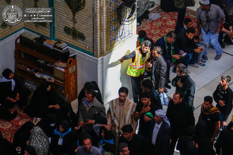 إدارة العتبة العلوية تهيئ أكثر من 3 آلاف متطوع لزيارة أربعينية الإمام الحسين(عليه السلام)