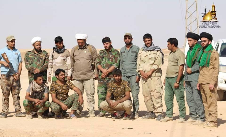 مبلغو لجنة الإرشاد ينقلون سلام المرجعية والدعم اللوجستي إلى المقاتلين المرابطين بين ناحية تل عبطة