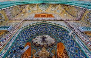 Gates Leading into the Holy Shrine - Imam Ali (a s) Network