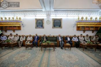 The Secretary General of the Holy Shrine of Imam Ali (PBUH) Meets with Agriculturalists Aiming at Developing a Specialized Agricultural Department