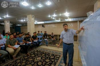 The Holy Shrine of Imam Ali (PBUH) Holds Courses for the Sixth Preparatory Grade Students