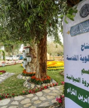 Active Participation of the Holy Shrine of Imam Ali (PBUH) in the Flower Festival in Baghdad