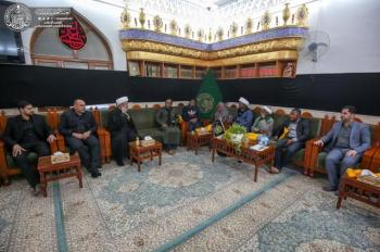 Muslim Clerics from the Republic of Sierra Leone visit the Imam Ali (PBUH) Holy Shrine