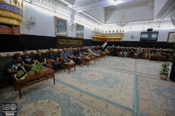 A delegation from North America visits the Imam Ali (PBUH) Holy Shrine