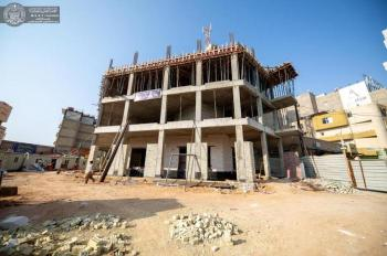 The ongoing works in the Imam Sajjad (PBUH) Medical Center