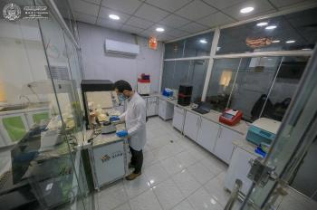 The General Secretariat of the Imam Ali (PBUH) Holy Shrine completes constructing an advanced laboratory, the first of its kind to serve researchers and specialists