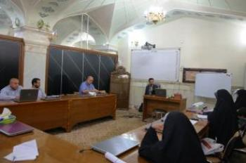 The Human Resources Development Division at the Imam Ali Holy Shrine Holds a Media Course in Program Broadcasting