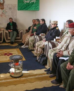 The Chiefs of Imam Ali Brigade Participate in the Meeting of the Mutual Operations in the West of Nineveh