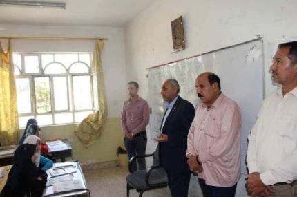 Media Department of Imam Ali Holy Shrine visits al-Muqatil al-Arabi School at Abbasiyah District.