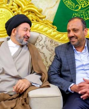 The Secretary General of the Holy Shrine of Imam Ali (PBUH) Meets with the Mayor of Najaf City