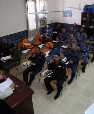 Religious Affairs Department of Imam Ali Holy Shrine concludes its Ramadan program at the Najaf Police Academy.