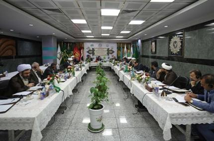 An Official Delegation of the Holy Shrine of Imam Ali (PBUH) Participates in the Meeting of the Second Round of the Holy Shrines in the Islamic World
