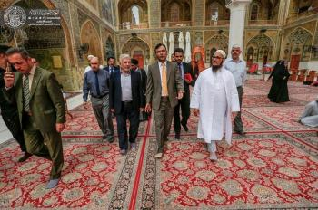 The Indian Ambassador in Iraq: Imam Ali (PBUH) is the Paragon of Humanity