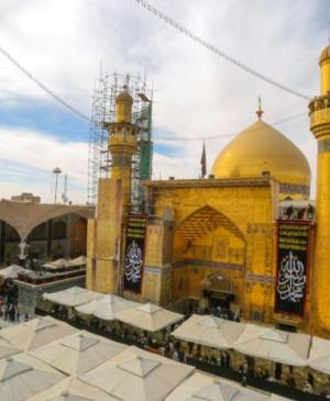 In Pictures... the Holy Shrine of Imam Ali (PBUH) Begins its Preparations to commemorating the Martyrdom of the Great Prophet (PBUH)