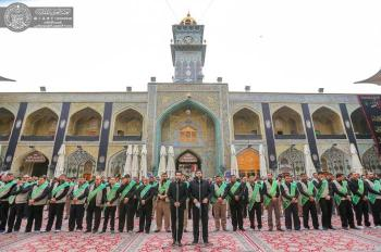 The Employees of the Holy Shrine of Imam Ali (PBUH) Commemorate the Martyrdom of the Messenger of Allah (PBUH&P)