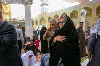 A Government Official from the United States: It is my Honor to Visit the Holy Shrine of Imam Ali (PBUH)